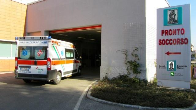 pronto soccorso ospedale di angera