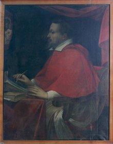Questo dipinto rappresenta forse il più noto dei numerosi ritratti del  cardinale b7fe817f9659
